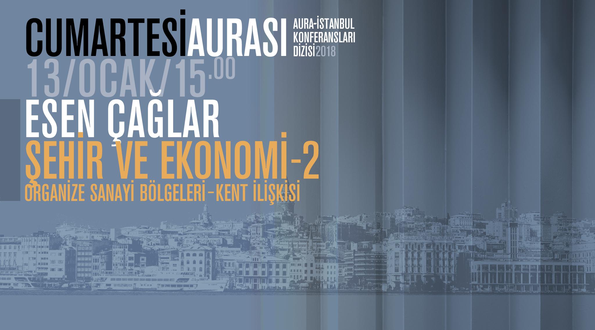 """Cumartesi Aurası: Esen Çağlar """"Şehir ve Ekonomi 2"""""""