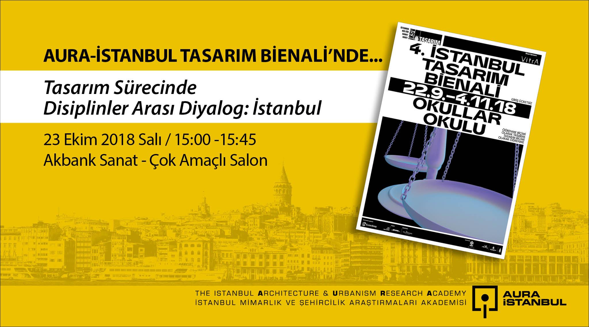 AURA-İstanbul Tasarım Bienali'nde…