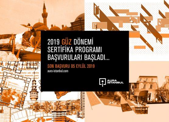 AURA-İstanbul 2019 Güz Dönemi Sertifika Programı Başvuruları Başladı!