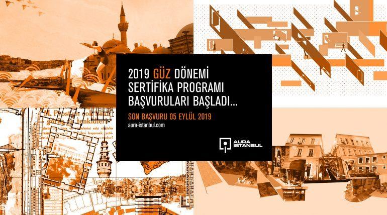 AURA İstanbul 2019 Güz Dönemi Sertifika Programı Katılımcıları Belli Oldu!
