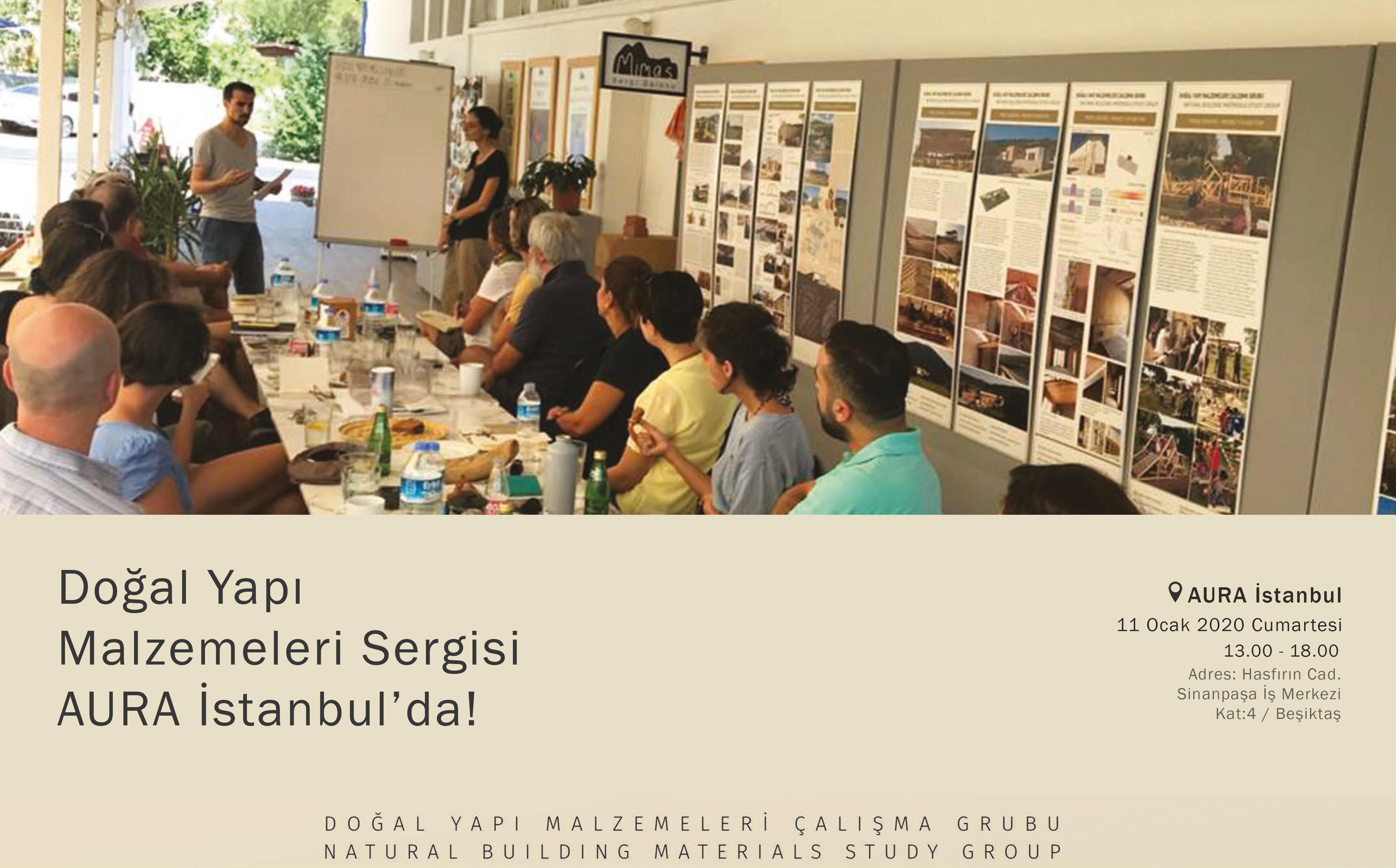 Doğal Yapı Malzemeleri Sergisi AURA İstanbul'da!