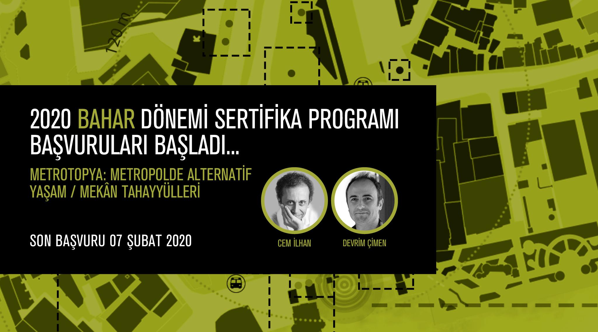 AURA İstanbul 2020 Bahar Dönemi Sertifika Programı Başvuruları Başladı!