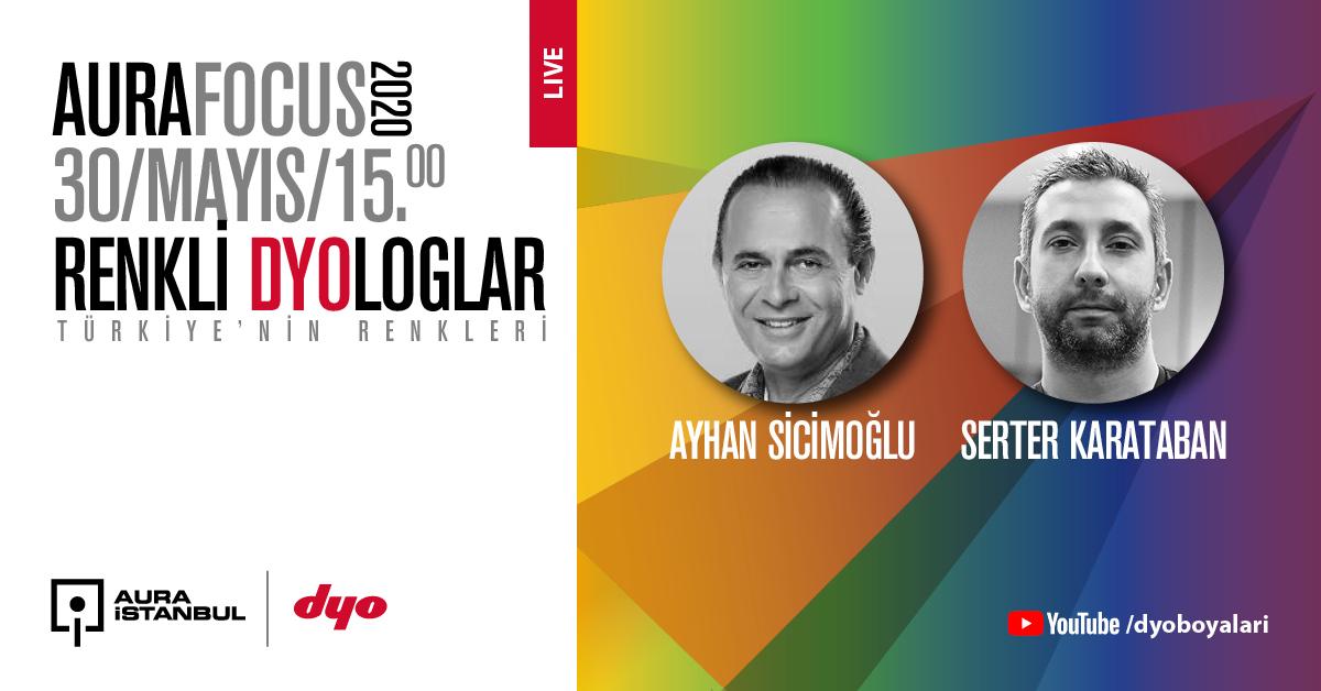 """Renkli DYOloglar: """"Ayhan Sicimoğlu & Serter Karataban"""""""