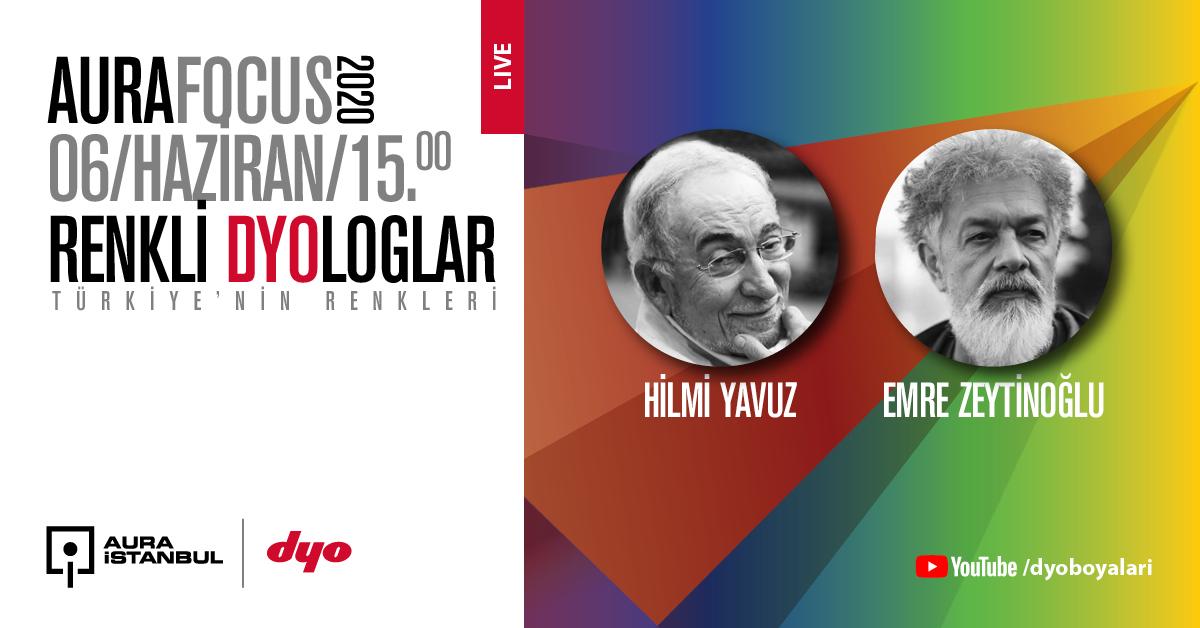 "Renkli DYOloglar: ""Hilmi Yavuz & Emre Zeytinoğlu"""