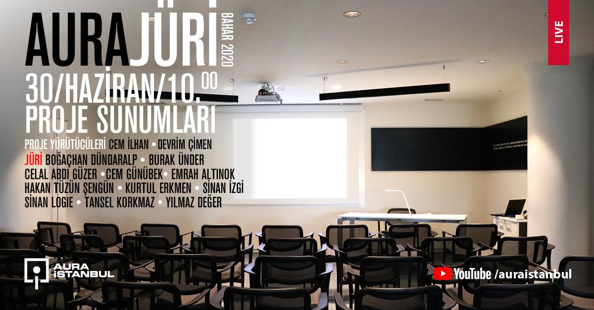 AURA İstanbul – Bahar 2020 Proje Sunumları
