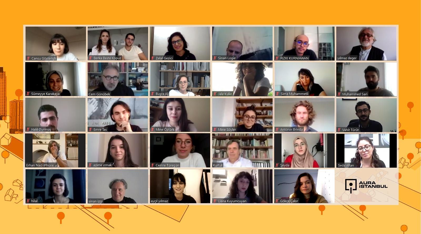 AURA İstanbul 2020 Güz Dönemi Sertifika Programı Katılımcıları Belli Oldu!