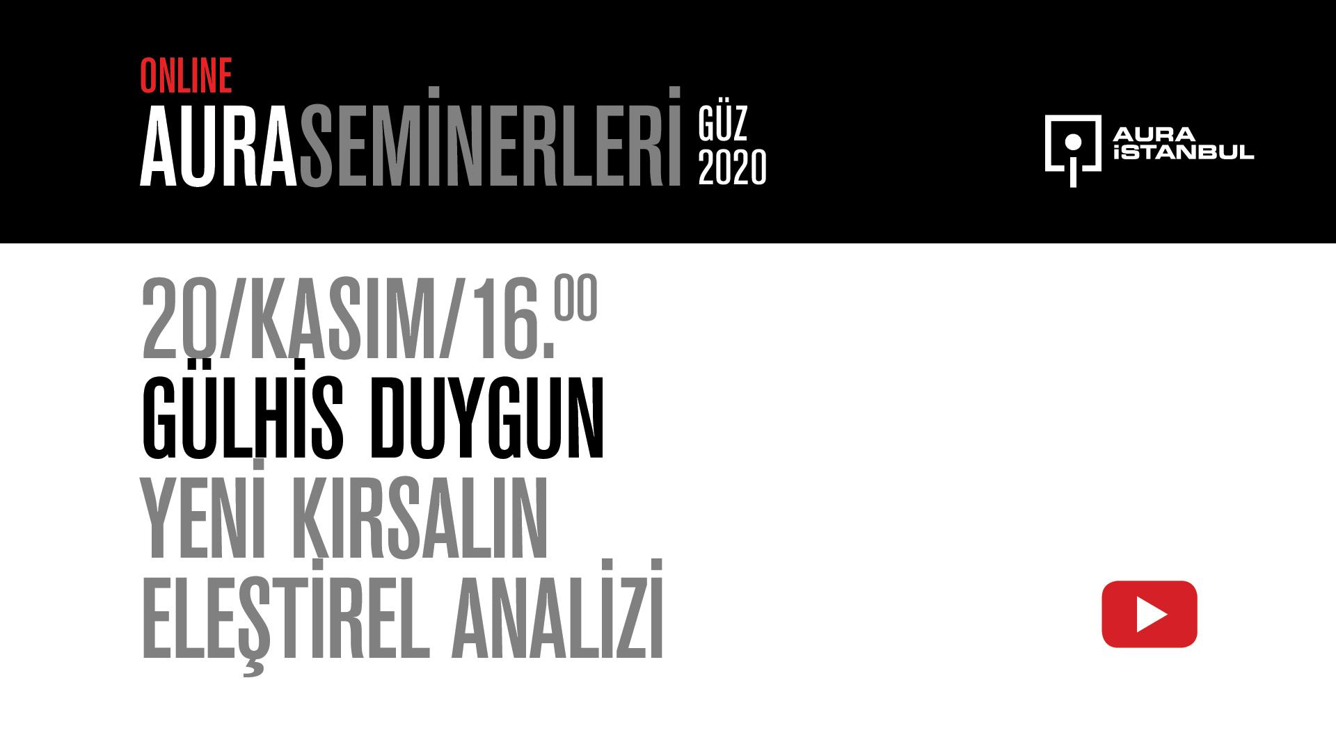 """AURA Seminerleri: Gülhis Duygun """"Yeni Kırsalın Eleştirel Analizi"""""""