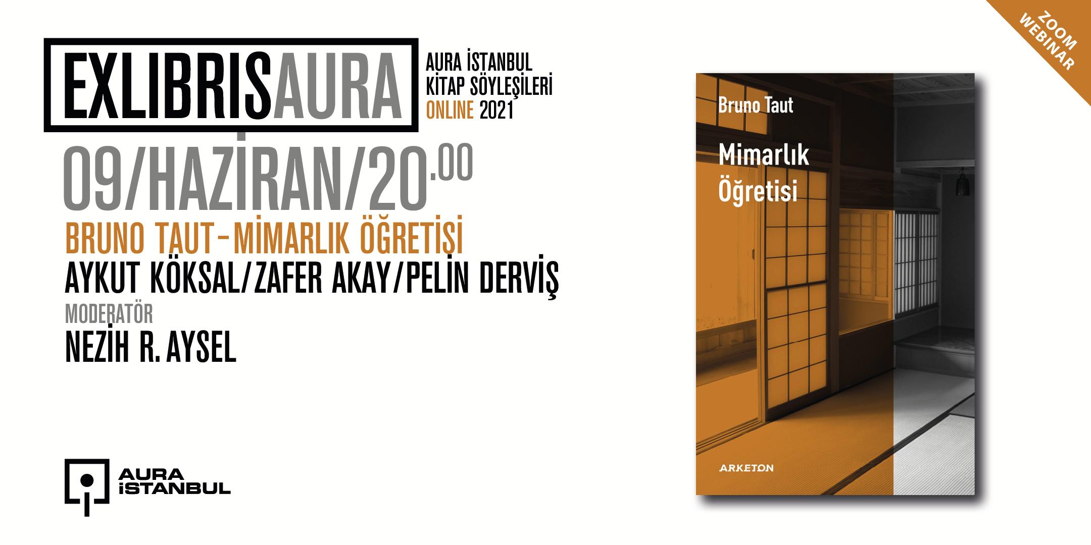 "Exlibris AURA #1: Bruno Taut ""Mimarlık Öğretisi"""