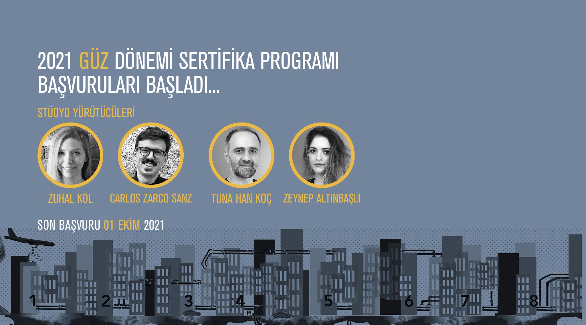 AURA İstanbul 2021 Güz Dönemi Sertifika Programı Katılımcıları Belli Oldu!